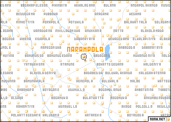 map of Narampola