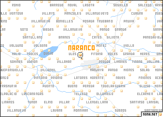 map of Naranco