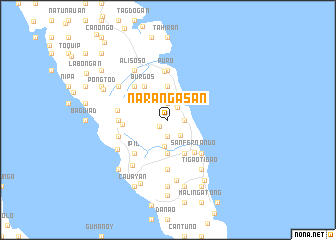 map of Narangasan