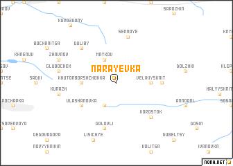 map of Narayevka