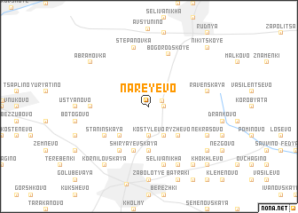 map of Nareyevo