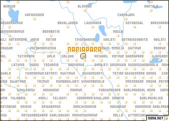 map of Nariāpāra