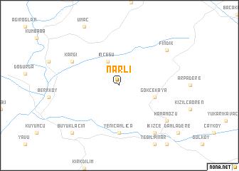 map of Narlı