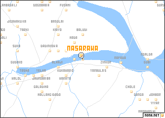 map of Nasarawa