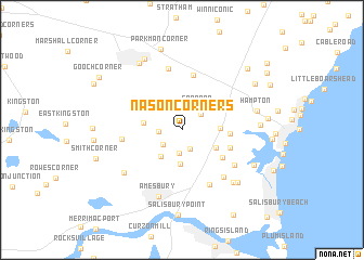 map of Nason Corners