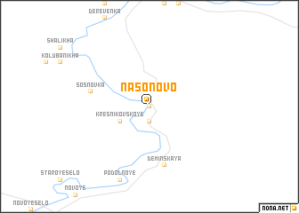 map of Nasonovo