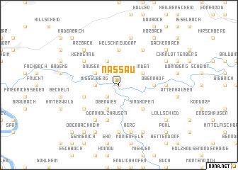 map of Nassau