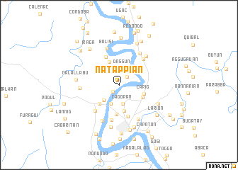 map of Natappian