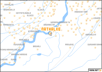 map of Nathalke