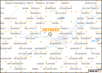 map of Näthern