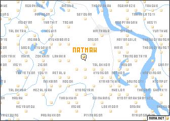 map of Natmaw