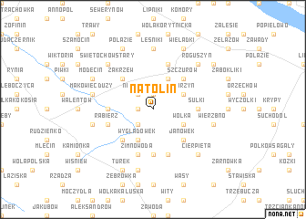 map of Natolin