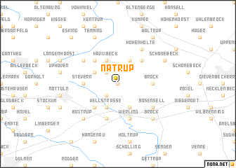 map of Natrup