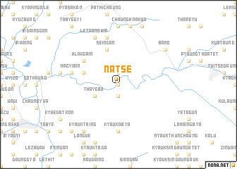 map of Natsè