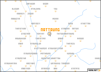 map of Nattaung