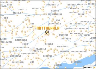 map of Natthewāla