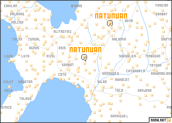 map of Natunuan