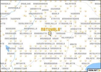 map of Natuwala