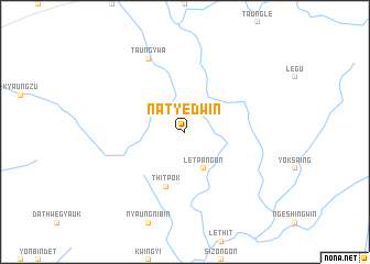 map of Natyedwin