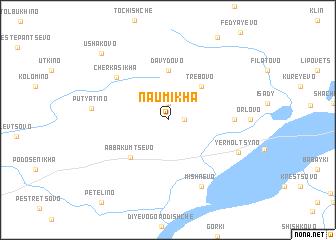 map of Naumikha