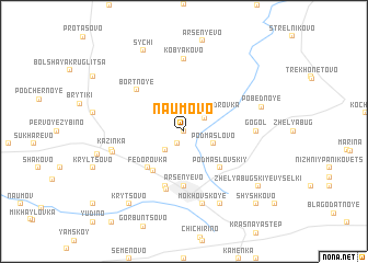 map of Naumovo
