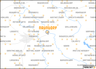 map of Naundorf