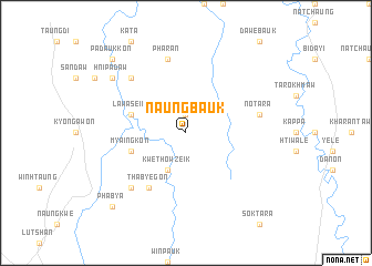 map of Naungbauk