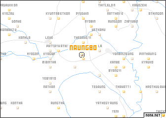 map of Naungbo
