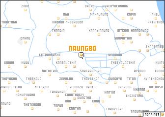 map of Naungbo