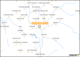 map of Naungkhan