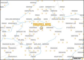 map of Naung-lang