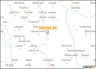 map of Naunglek