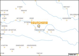 map of Naungmana