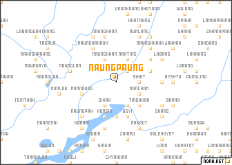 map of Naungpaung