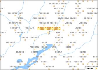 map of Naungpaung