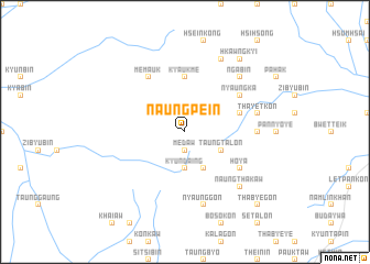 map of Naung-pein