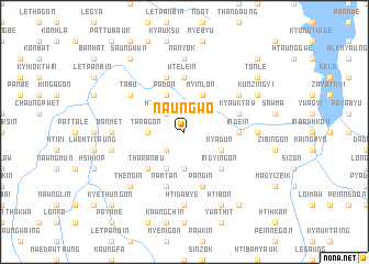 map of Naungwo