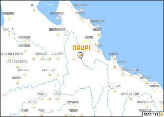 map of Naupi