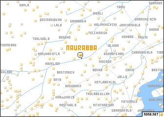 map of Naurabba