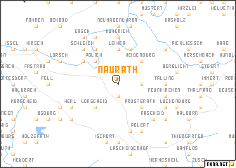 map of Naurath