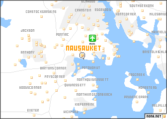 map of Nausauket