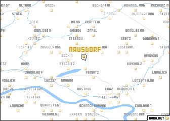 map of Nausdorf