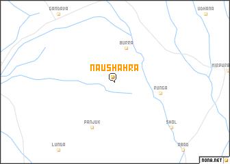 map of Naushahra