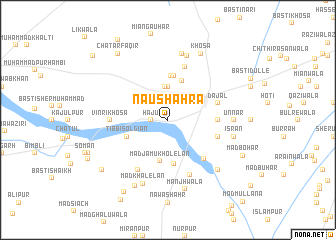 map of Naushahra