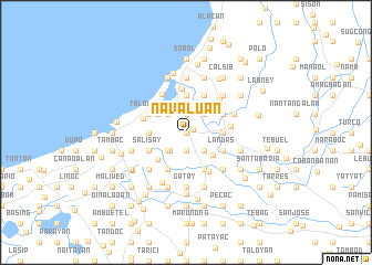 map of Navaluan