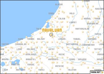 map of Navaluan