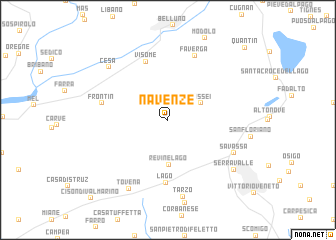 map of Navenze