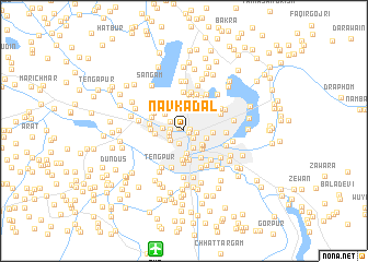 map of Nav Kadal