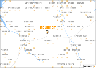 map of Nawadat