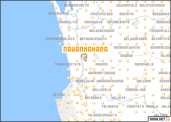 map of Nawanmahara